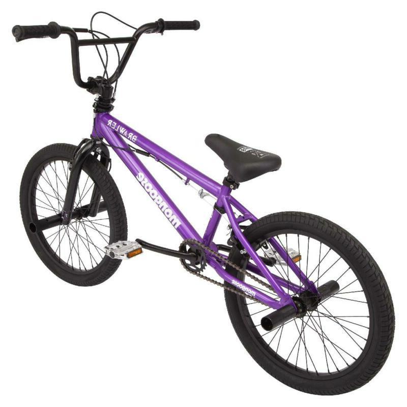 """Mongoose Brawler Bike, 20"""" wheels,"""