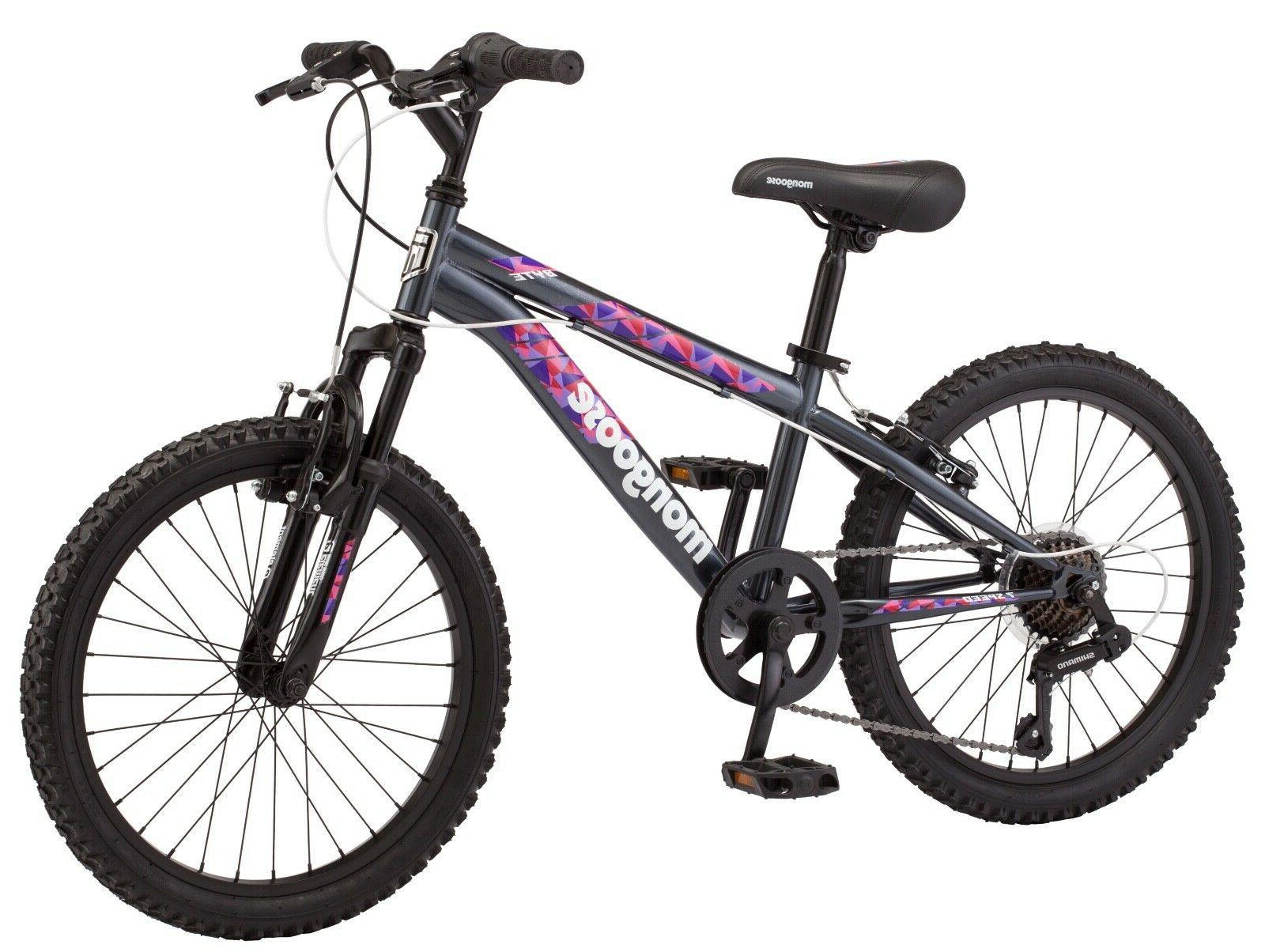 byte mountain bike 20 inch wheels 7
