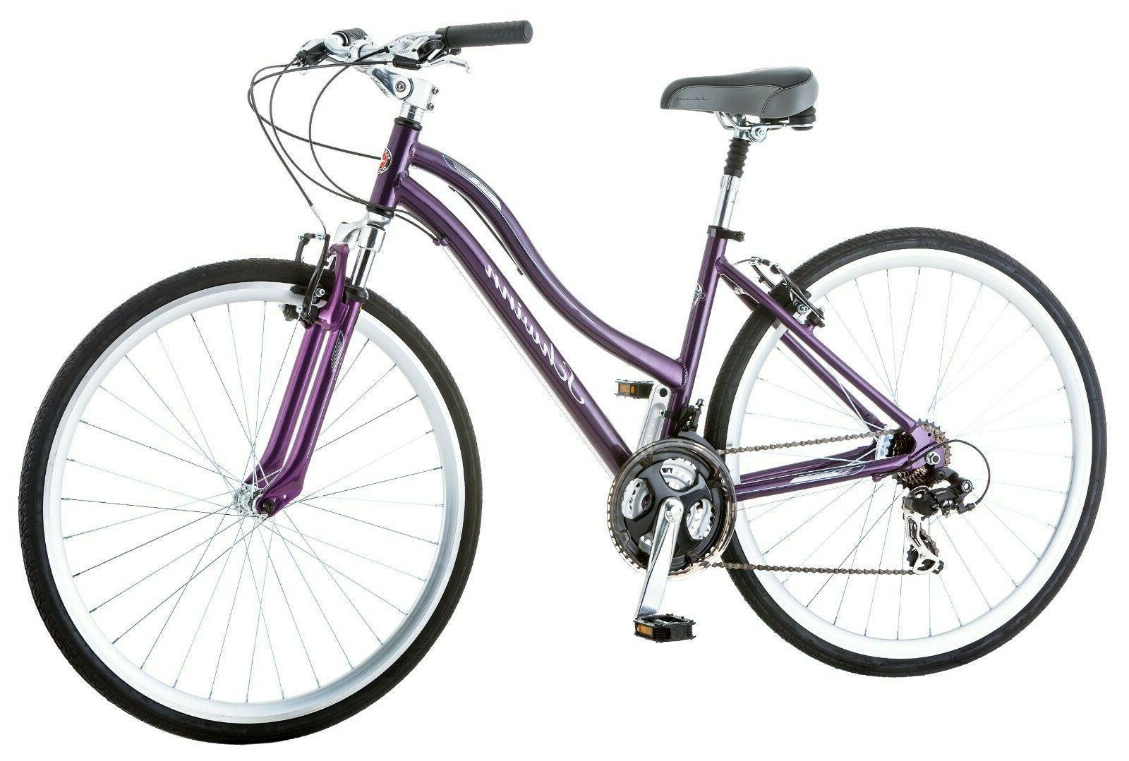 Schwinn Capital 700c Hybrid Bike-Purple