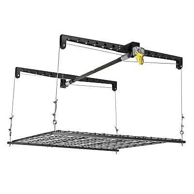 Racor - Ceiling Storage Heavy Lift Adjustable Durable Garage