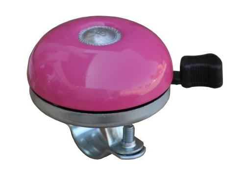 Firmstrong Classic Beach Cruiser Bicycle Bell, Pink