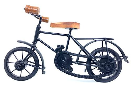 Attractive Collectible Miniatures Metal Art Figurine Bike - Inches