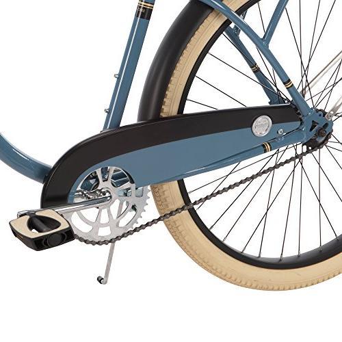 Huffy 26-inch Deluxe Cruiser Bike, Blue