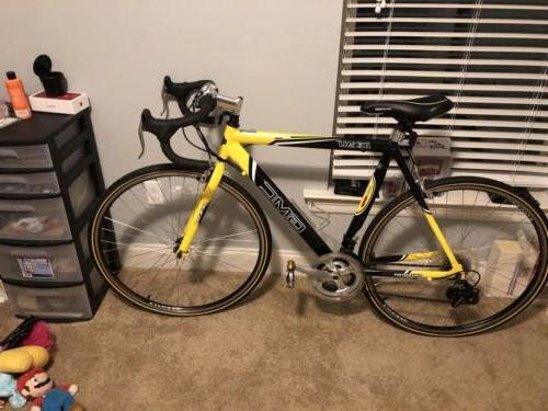 GMC Road Bike Speed Aluminum Frame Yellow