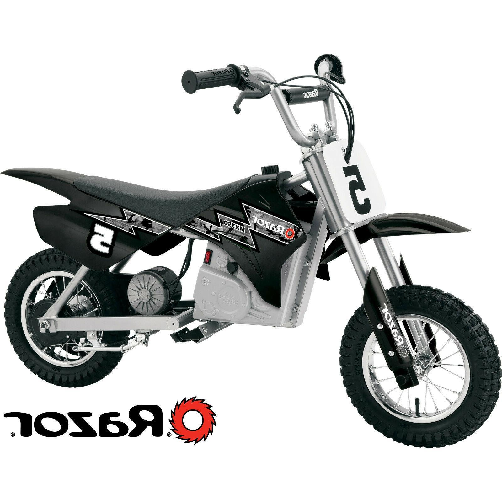 Razor Dirt Rocket MX350 Electric 24v Ride On Dirt Bike, spee