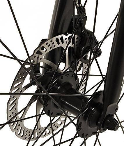 Vilano Diverse Hybrid Road Bike 24 Speed Brakes