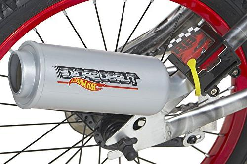 """Hot Wheels Bike with Rev' Silver/Red, 18"""""""