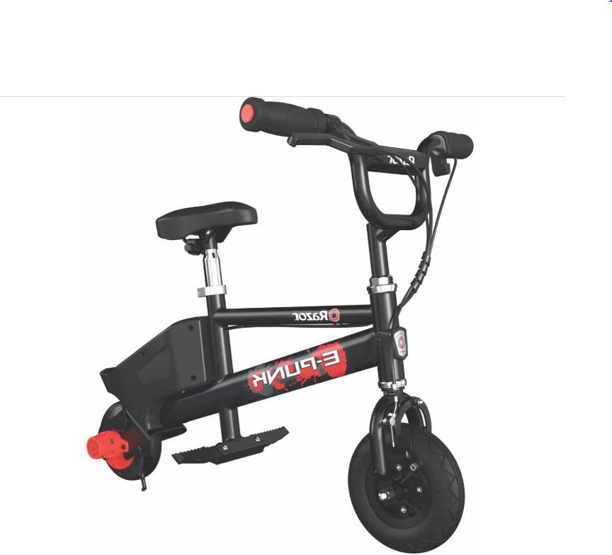 Razor Electric Bike for 8+