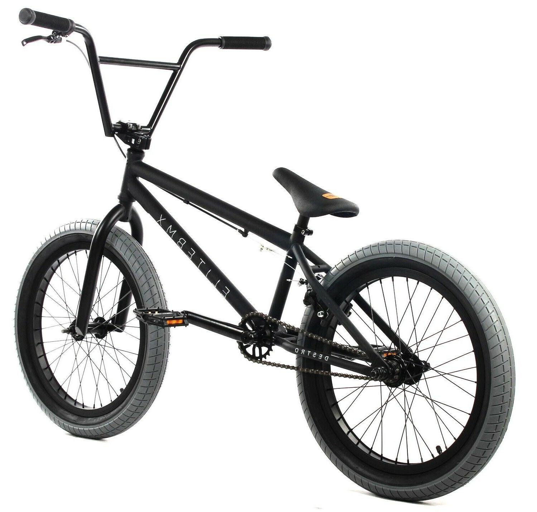 Elite BMX Bicycle Freestyle Bike Piece Black NEW