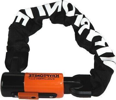 KRYPTONITE Evolution Mini 1055 Integrated Chain Bike Lock
