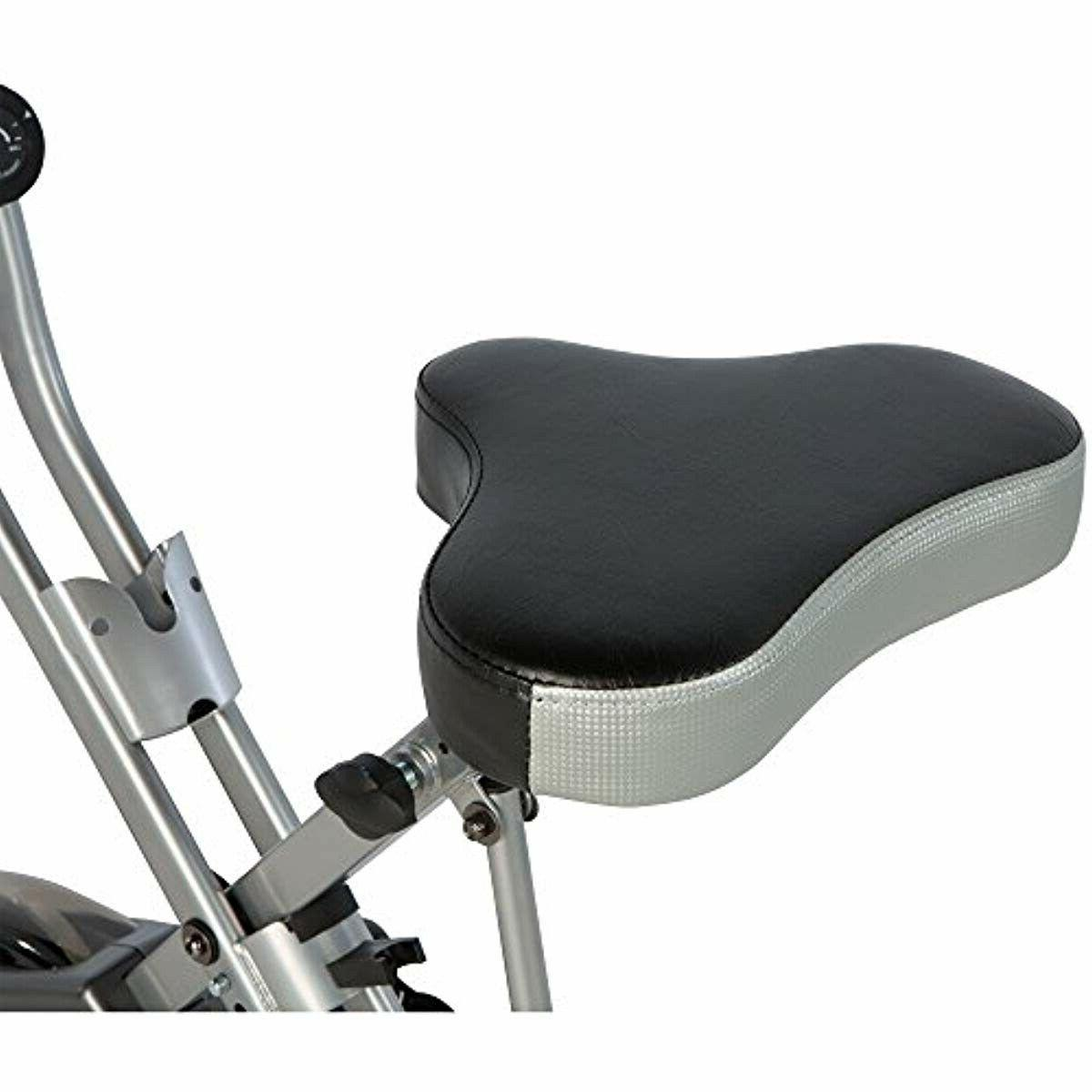 Exerpeutic Folding Magnetic Upright Bike with , Exercise/Workout