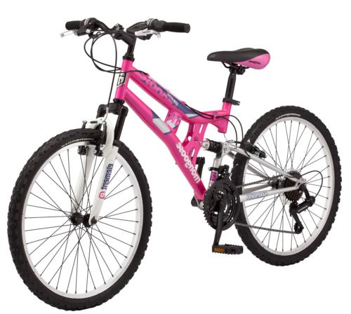 Mongoose Girls Exlipse Mountain Bike 24 One Size Pink