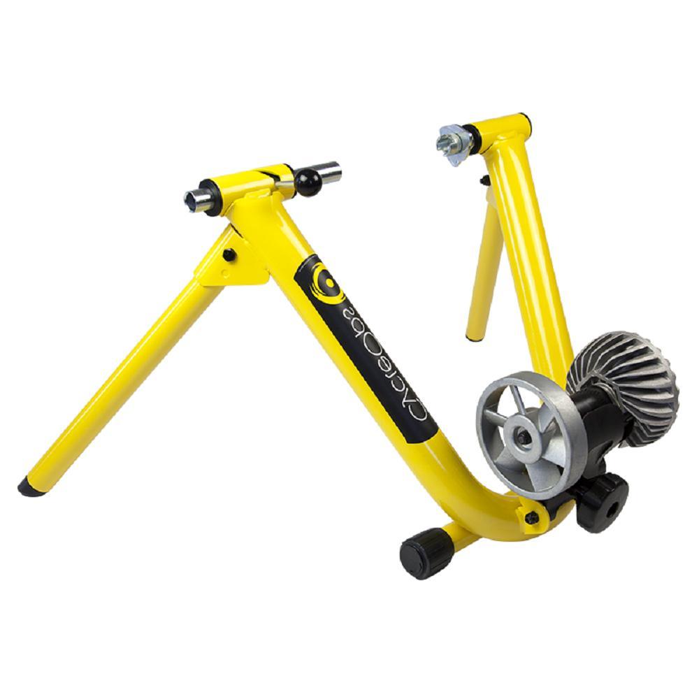 Cycleops Fluid Bicycle Exercise Trainer Bike Yellow Indoor S