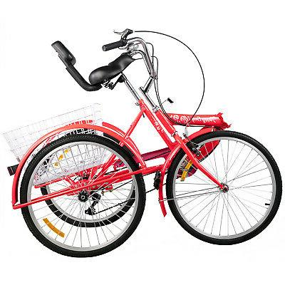 Foldable Tricycle Adult Wheels Adult 3