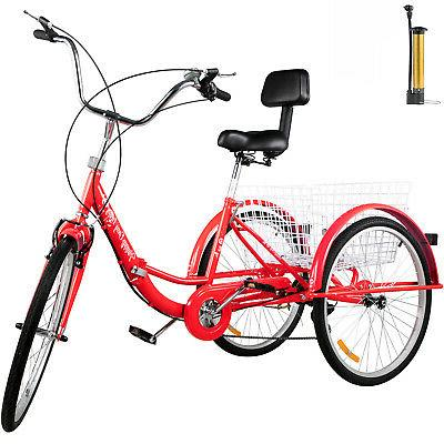 foldable tricycle adult 24 wheels adult tricycle