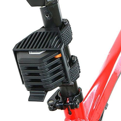 HOMPAT Folding Bike Lock Lock Security Steel Lock with High Security Hardened Metal, Hamburger Lock