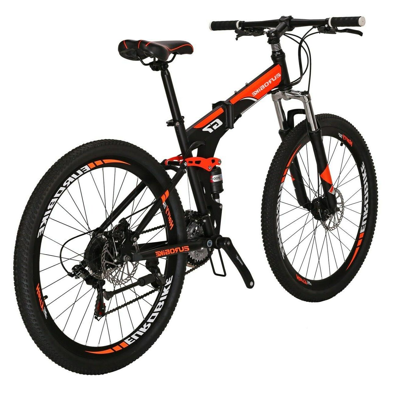 "Folding Suspension 27.5"" 21 Speed Disc Mens"