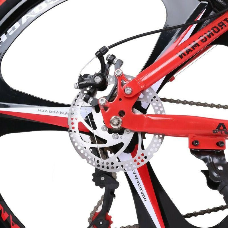26in Shimanos Speed Full Suspension MTB Bikes
