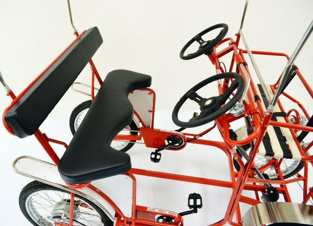 Four Wheel Bike, 2 Pedal Bike