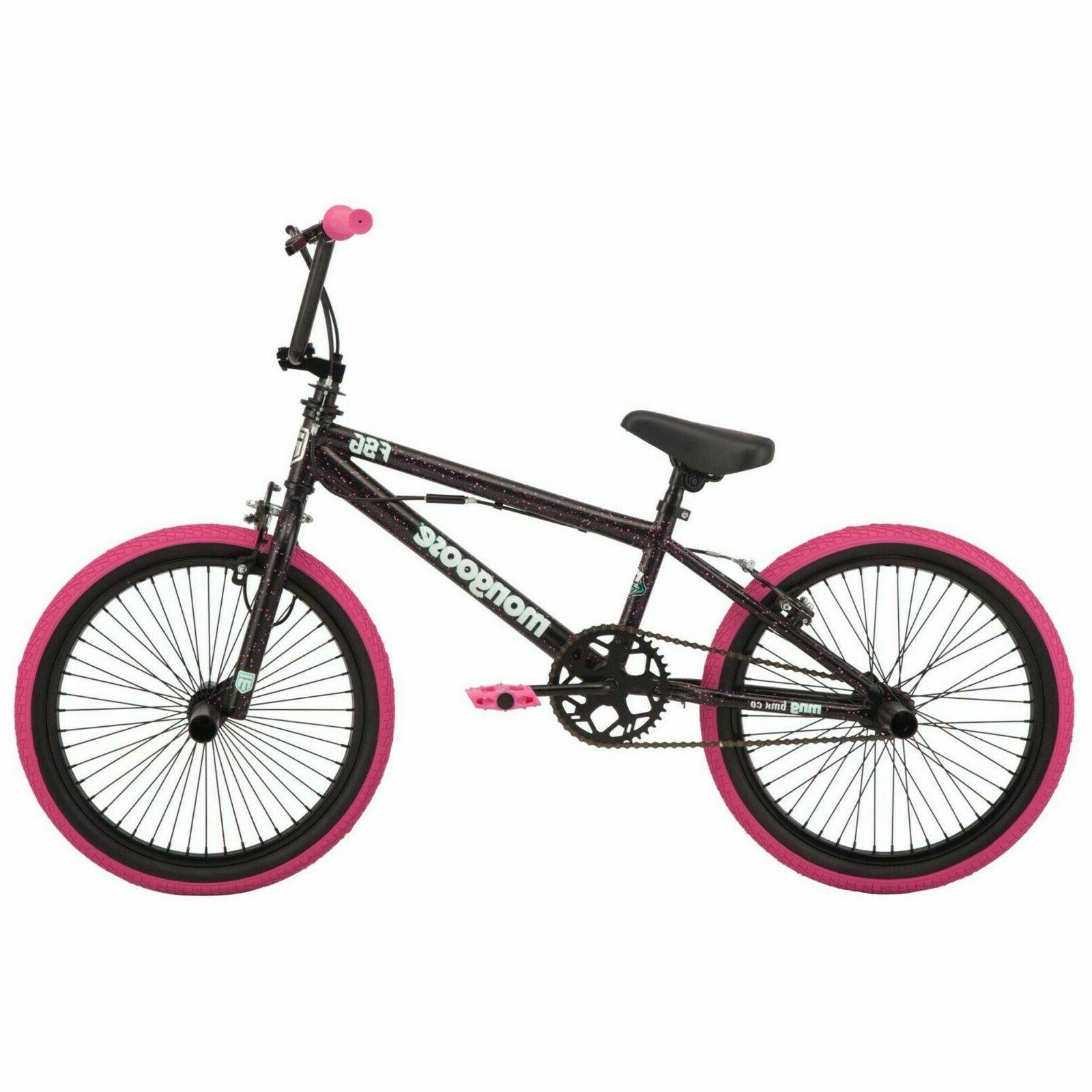 🔥Mongoose FSG Bike BMX 20-inch Mag Wheels, ages 7+ Hot Bi