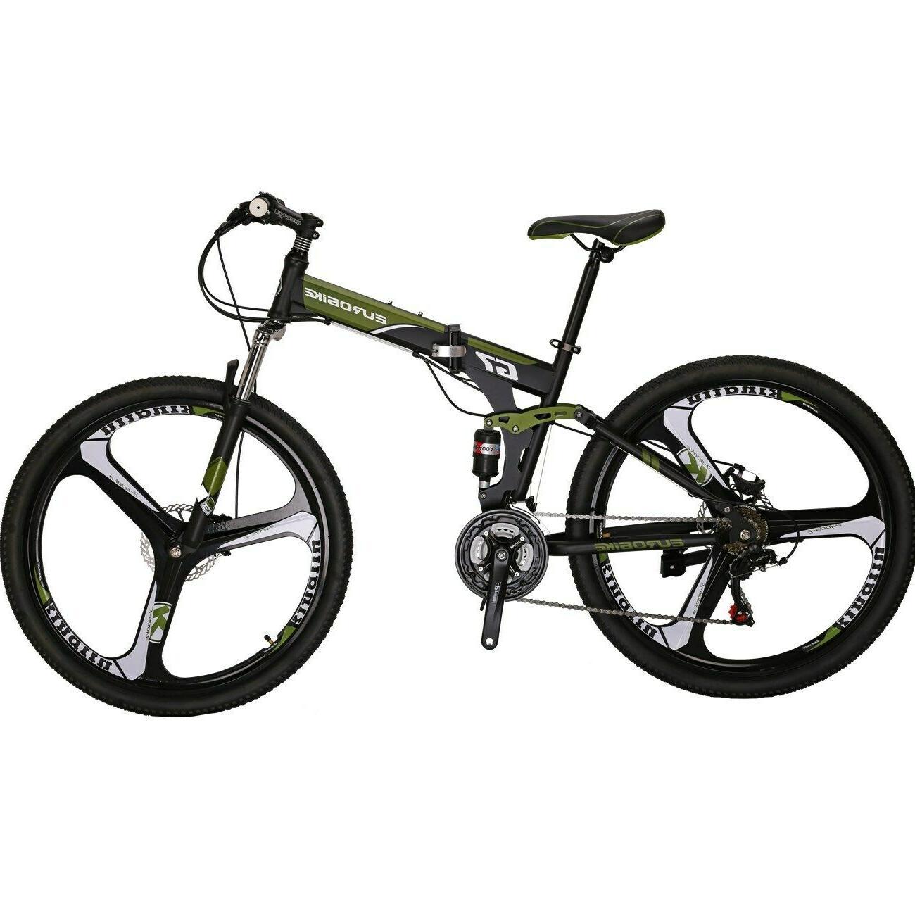 G7 Folding 21 Full Disc Brake Bicycle