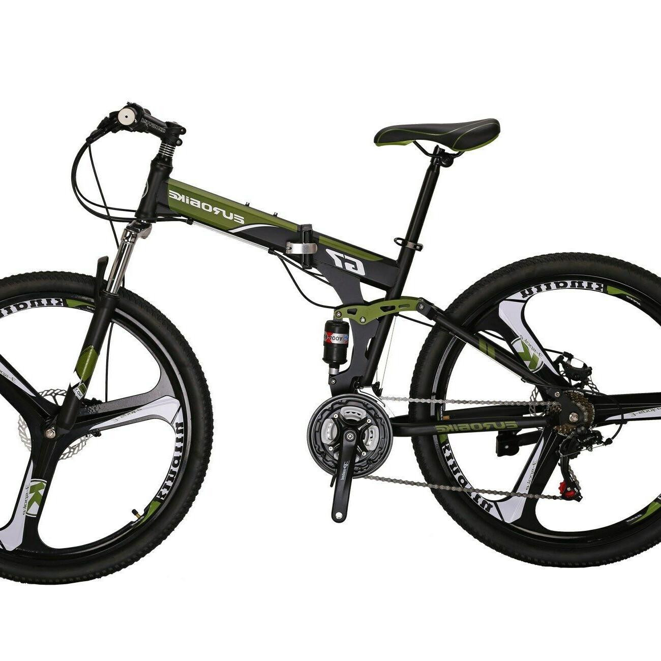 "G7 Folding 21 Disc 27.5"" Bicycle"