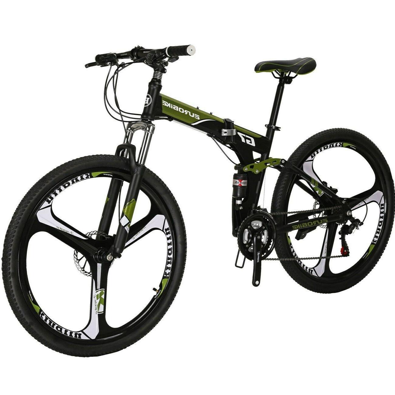g7 folding mountain bike 21 speed full
