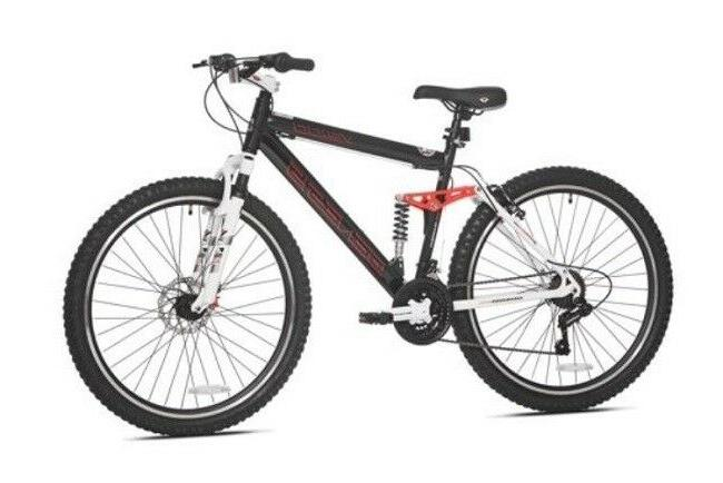 "26"" Genesis V2100 Men's Mountain Bike with Full Suspension,"