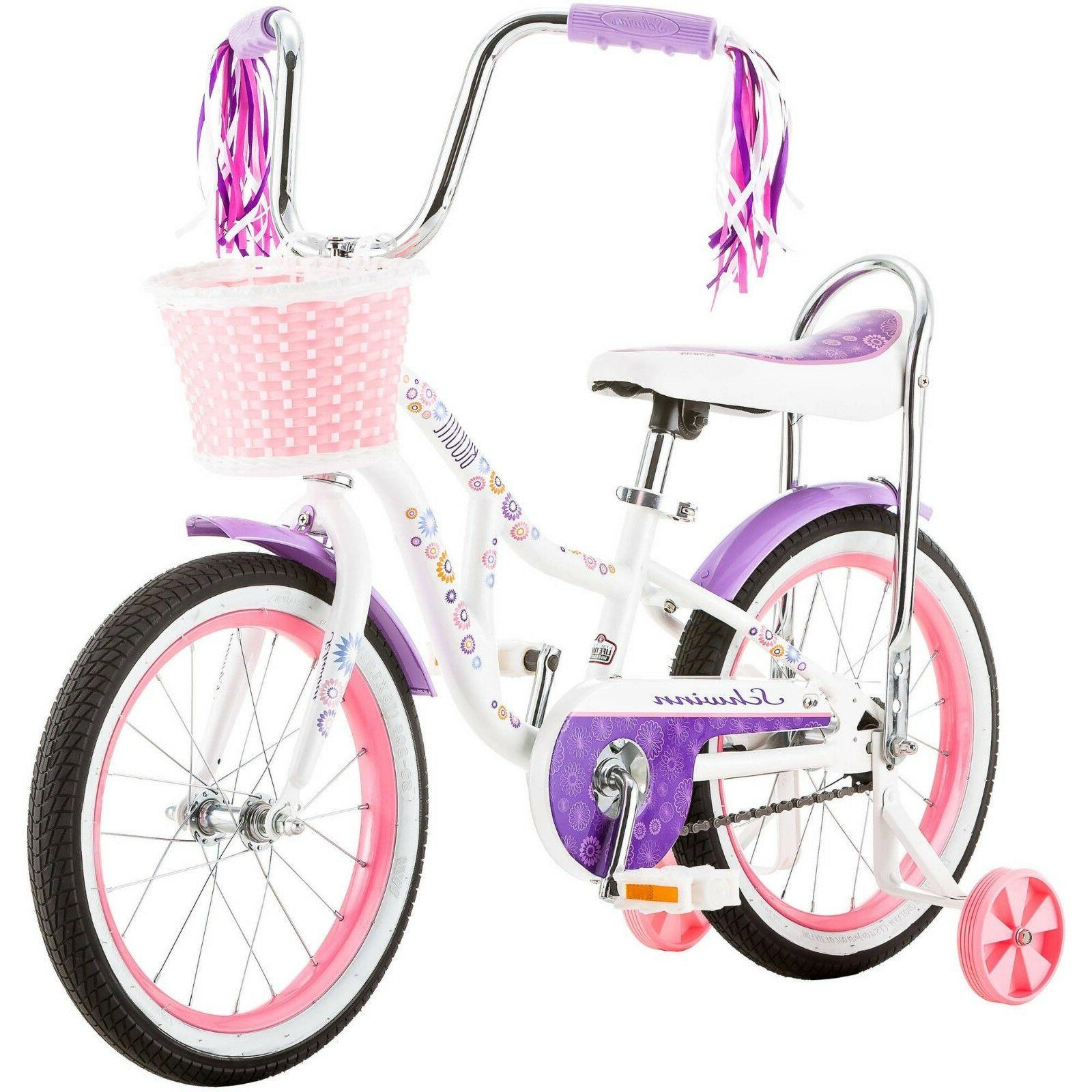 Girls Children Kids Bicycles With Training Inch
