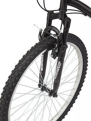 Granite Mens Adult Bike 26 Wheels Black White Sports