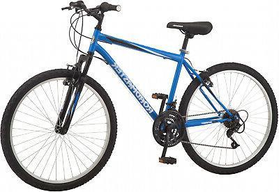 Granite Peak Adult Bike 26 Inch Wheels Black White Sports