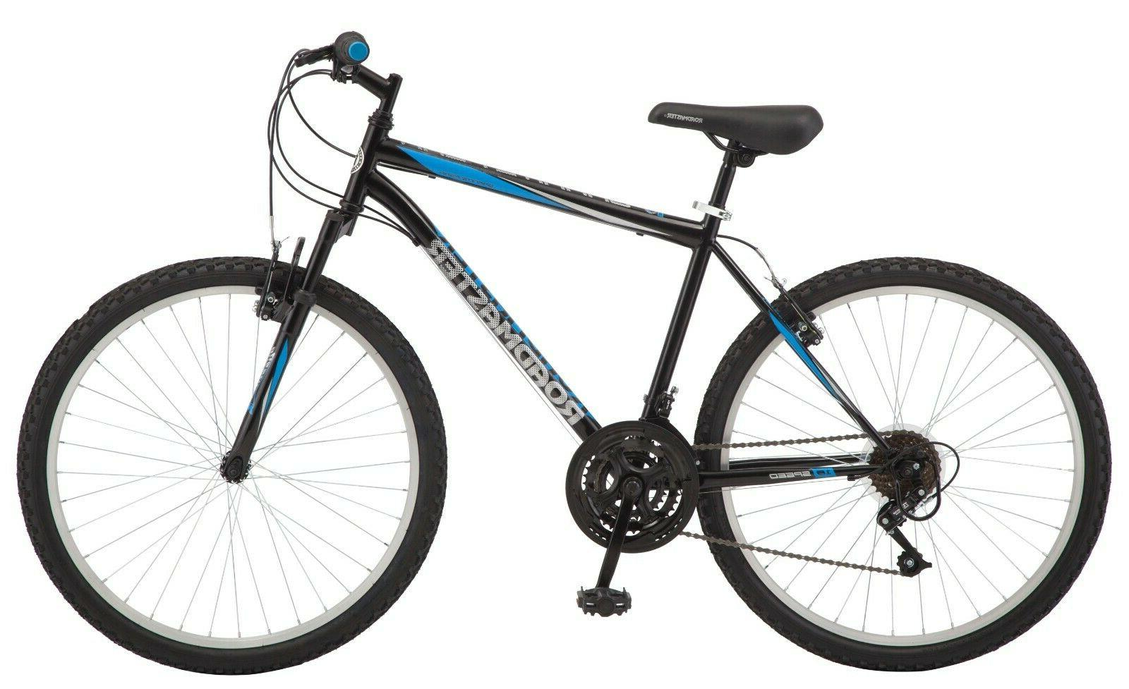 "Roadmaster Granite Peak Men's Mountain Bike 26"" Wheels - Bla"