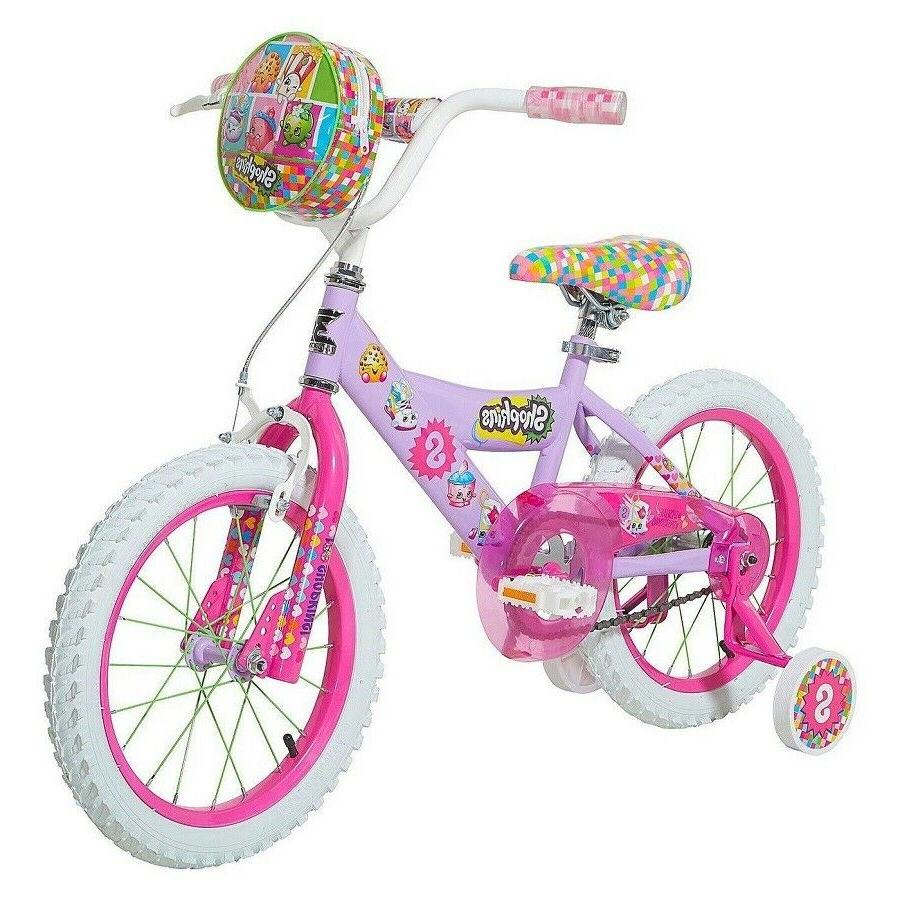 hello shopkins girl s 16 bicycle bike