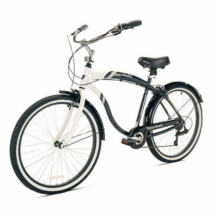 Kent Oakwood 26-Inch Men's Cruiser Bicycle in White