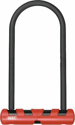 ABUS Keyed U-Lock Ultimate 420: 300mm : Black/Red