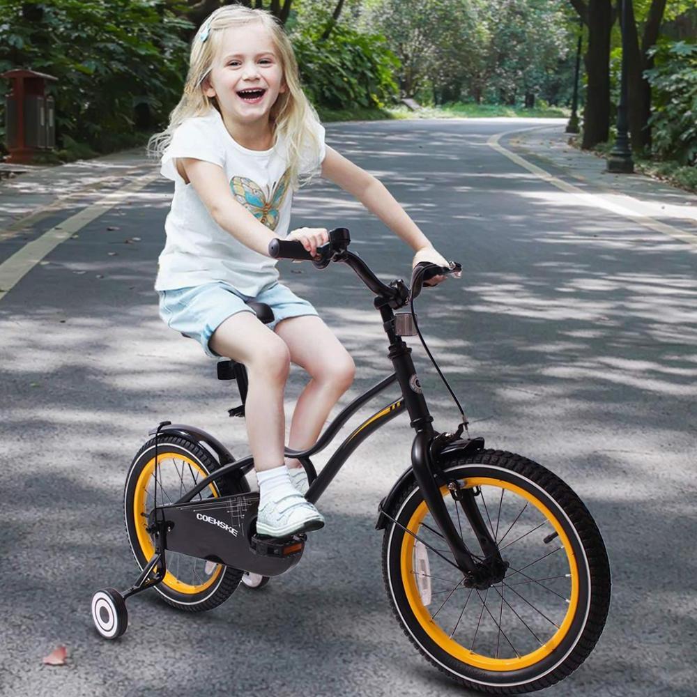 Kid's <font><b>Children</b></font> <font><b>Bicycle</b></font> 14-16 with Training Wheel