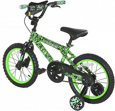 "NEW 16"" Kids Bike Bicycle Boys Girls with Training Wheels Co"