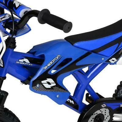 "Kids Boys Gift Red 16"" inch Yamaha Moto Bike"