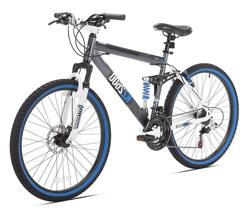 kz2600 dual suspension mountain bike 26 inch
