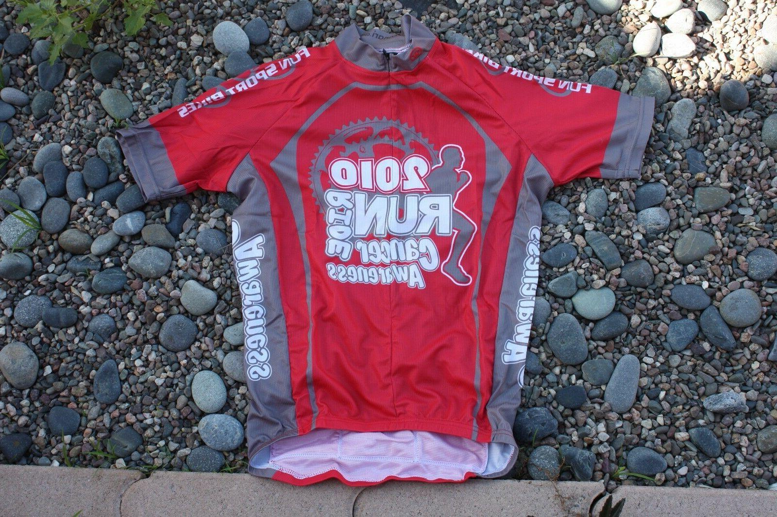 Canari Medium New Cancer Ride Cycling Bicycle