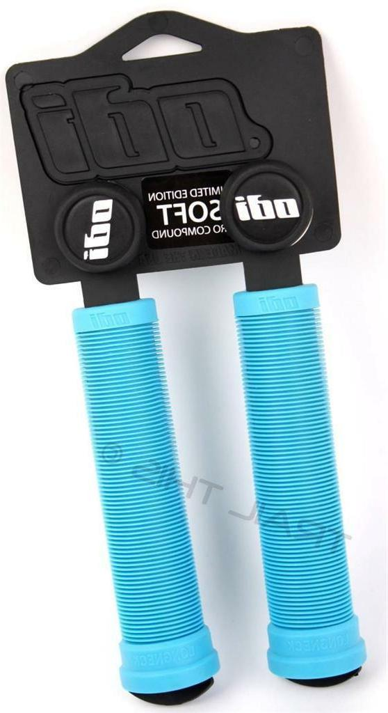 Bright Blue//Size 130mm Odi Rouge Single-Ply ATV Motorcycle Hand Grips