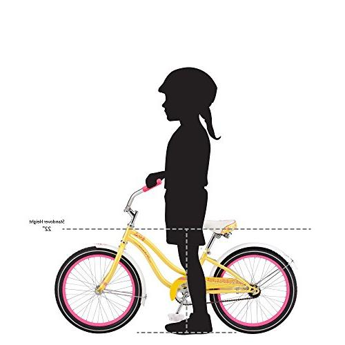 Schwinn Girls Maddy Bicycle, Yellow