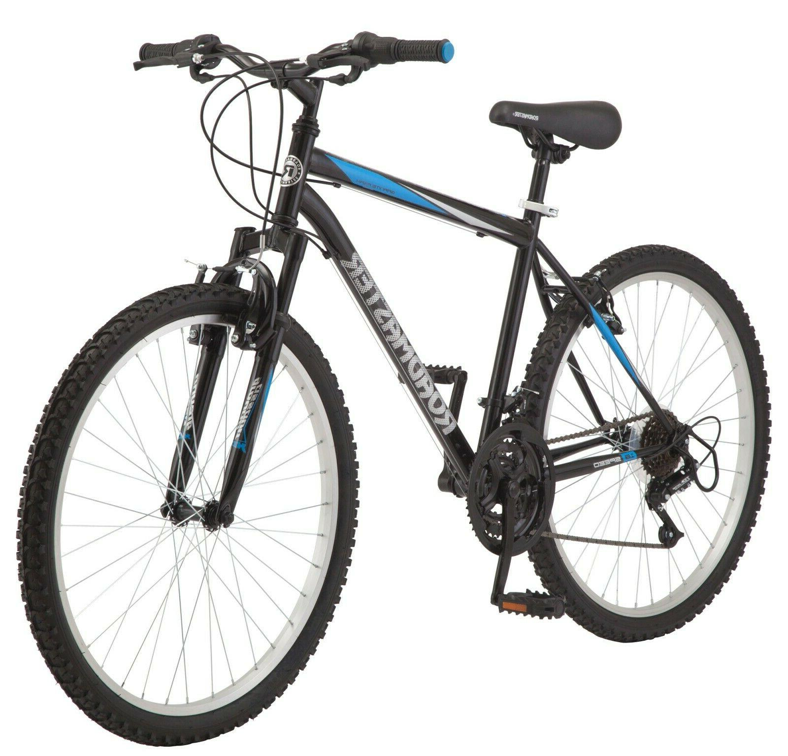"Mountain Bike 26"" Inch Roadmaster Granite Peak Men's 18 Spee"