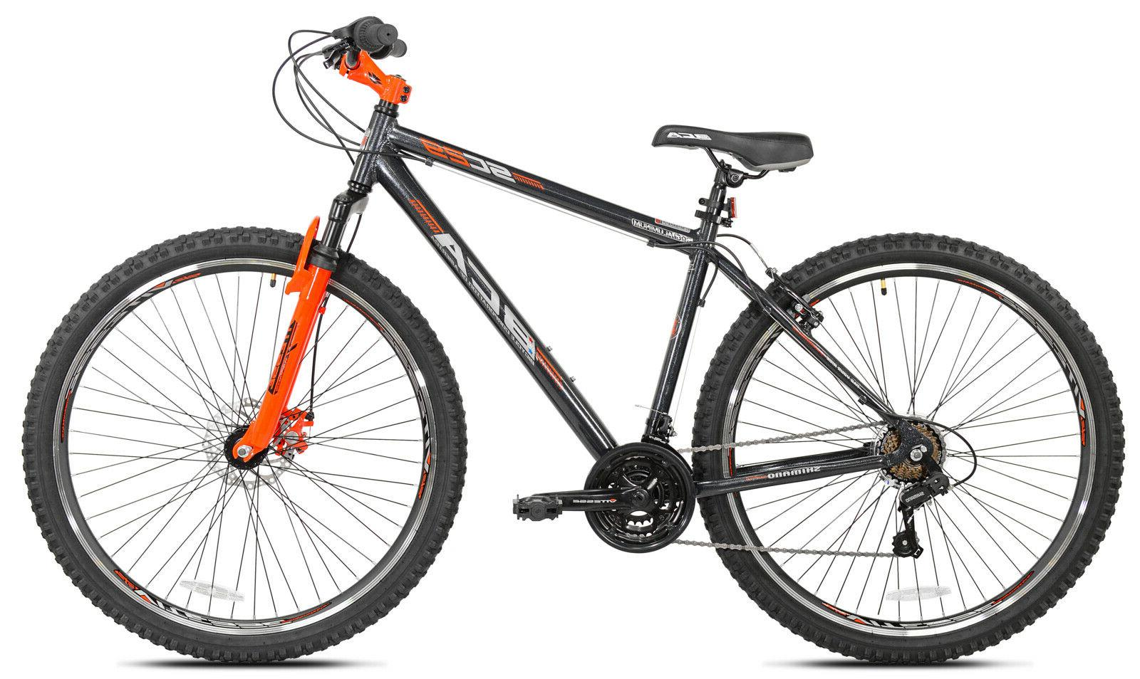 Men's Aluminum Speed Bicycle, Gray/Orange