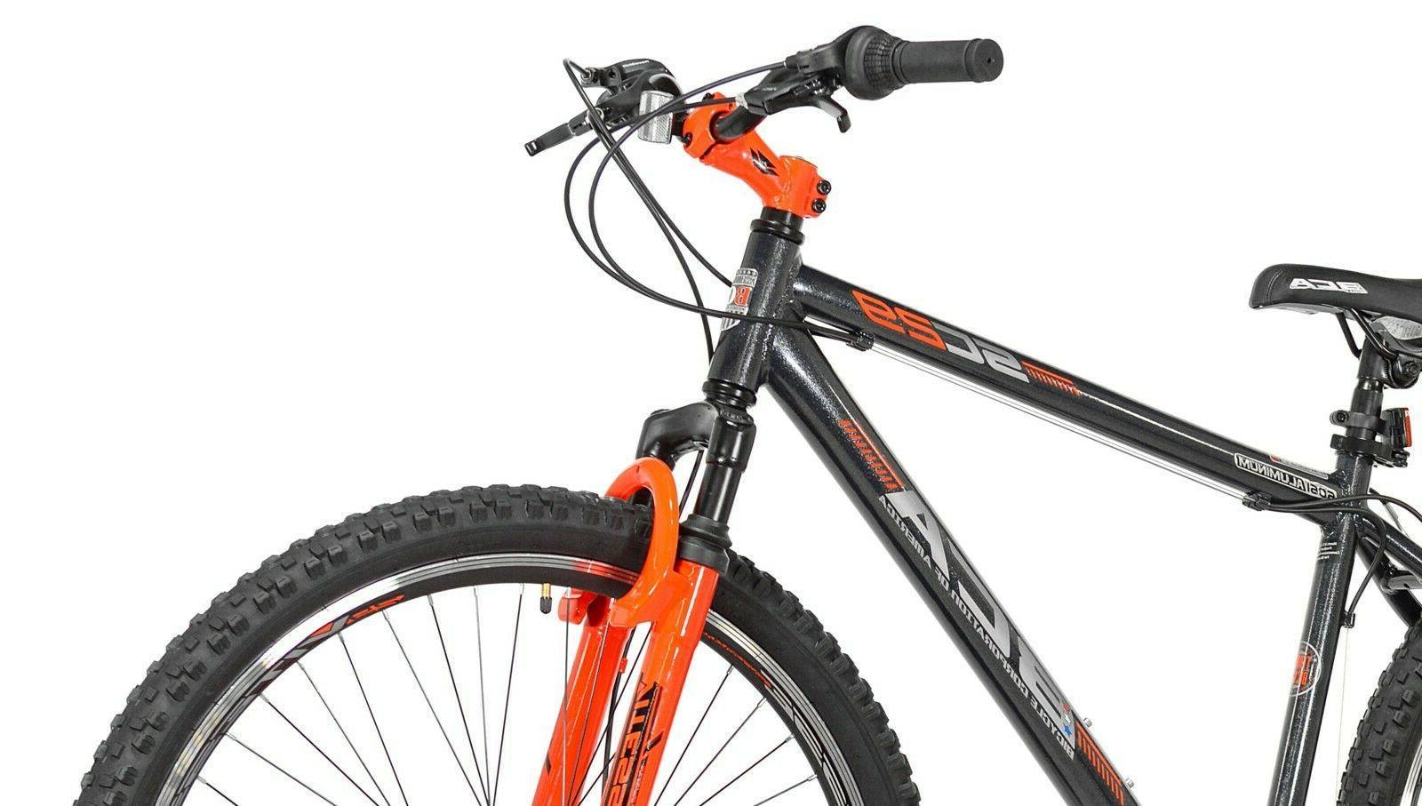 Men's Mountain Bike Aluminum 21 Gray/Orange