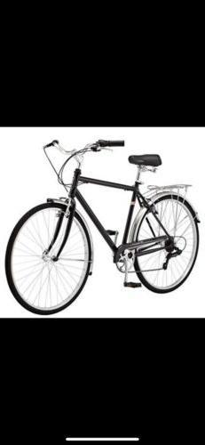 Schwinn Men's Wayfarer Hybrid Bike, Black