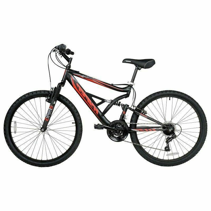 Mountain Bike 18 Speed Bicycle Shimano Mt Bikes Cycling Peda