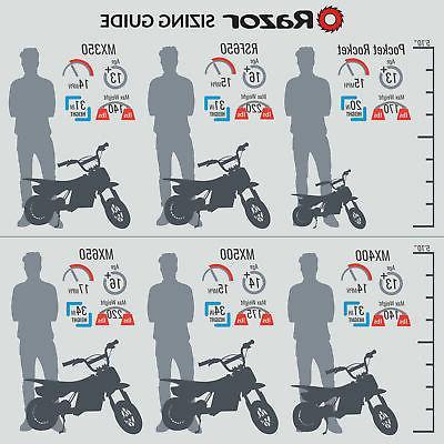 Razor High-Torque Motorcycle Bike,