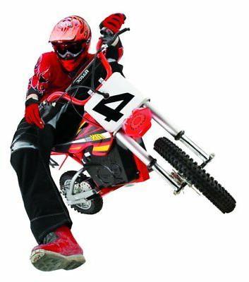 Razor MX500 Dirt High-Torque Electric Bike, 15 Red