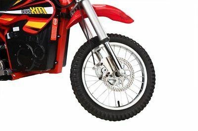 Razor MX500 Rocket High-Torque Motorcycle Dirt Bike, 15 Red